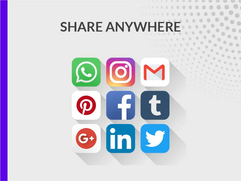 SHARE IN SOCIAL NETWORKS