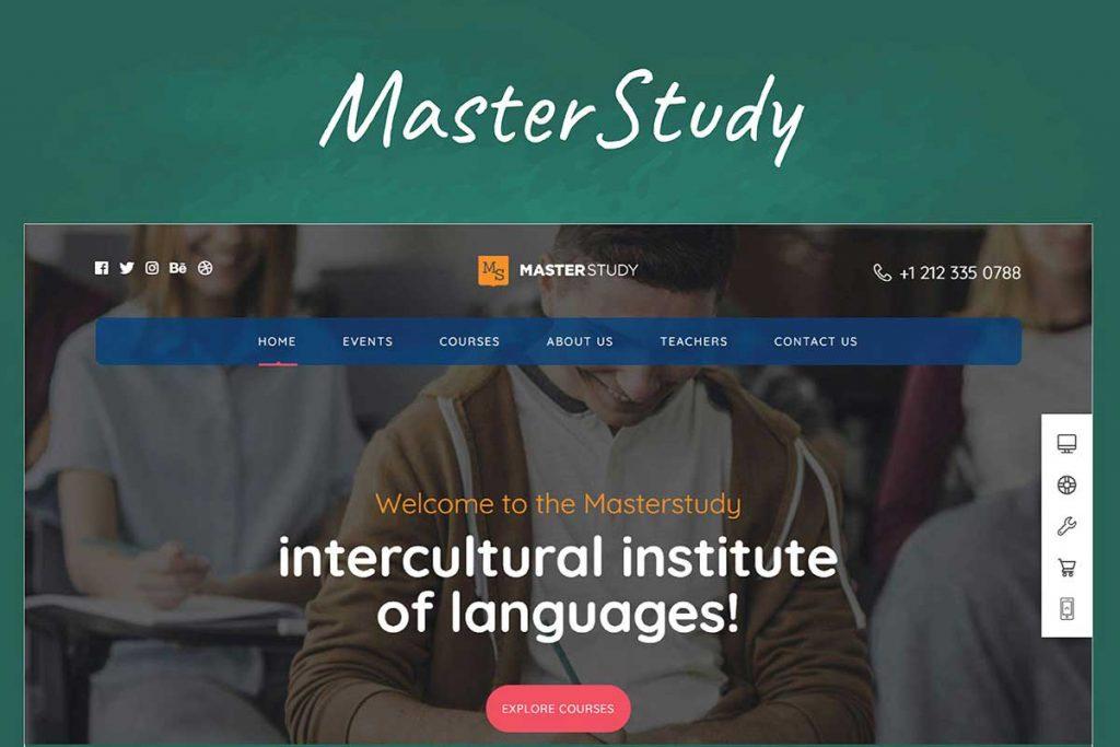 Masterstudy - Education WordPress Theme