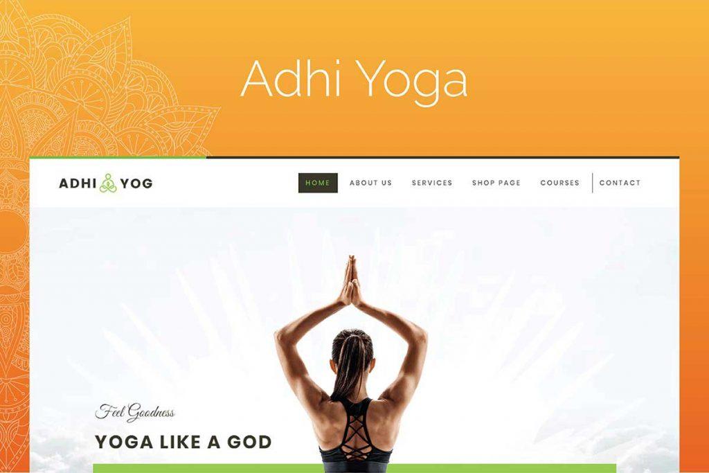 Adhi Yoga | Fitness WordPress Theme