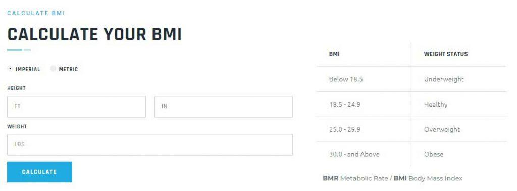 Gimox - Calculate BMI