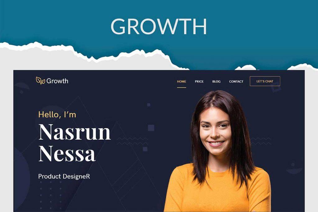 Growth - Personal Portfolio Theme