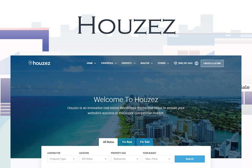 Houzez - Real Estate Agents and Agencies