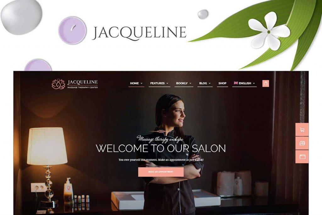 Jacqueline | Spa & Massage Salon Beauty WordPress Theme