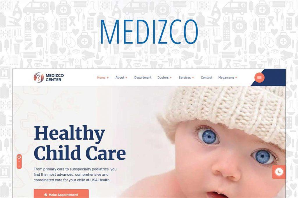 Medizco - Medical, Health & Dental Care Clinic WordPress Theme