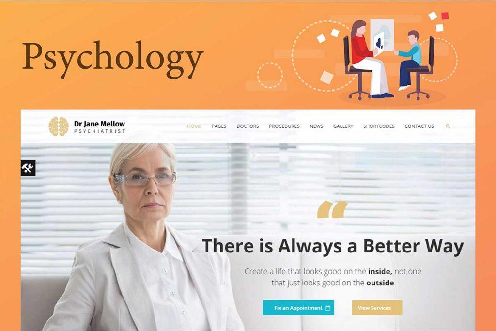 Psychology - Therapy WordPress