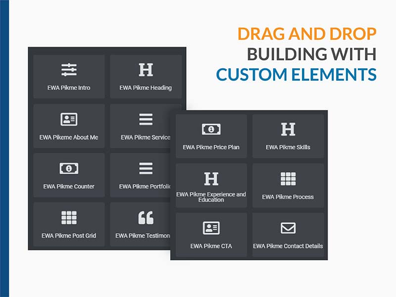 Drag & Drop Builder