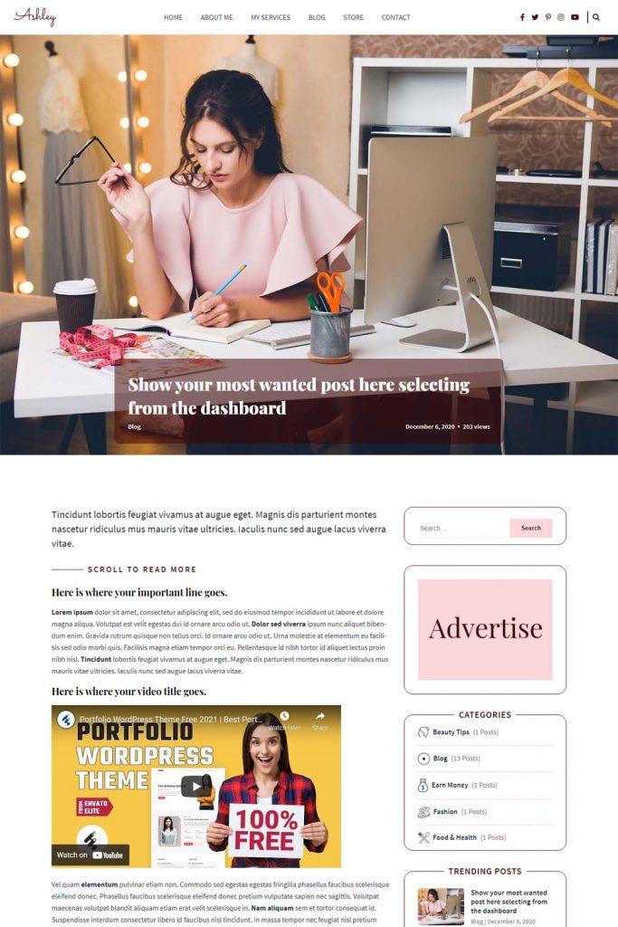 Single Blog Page