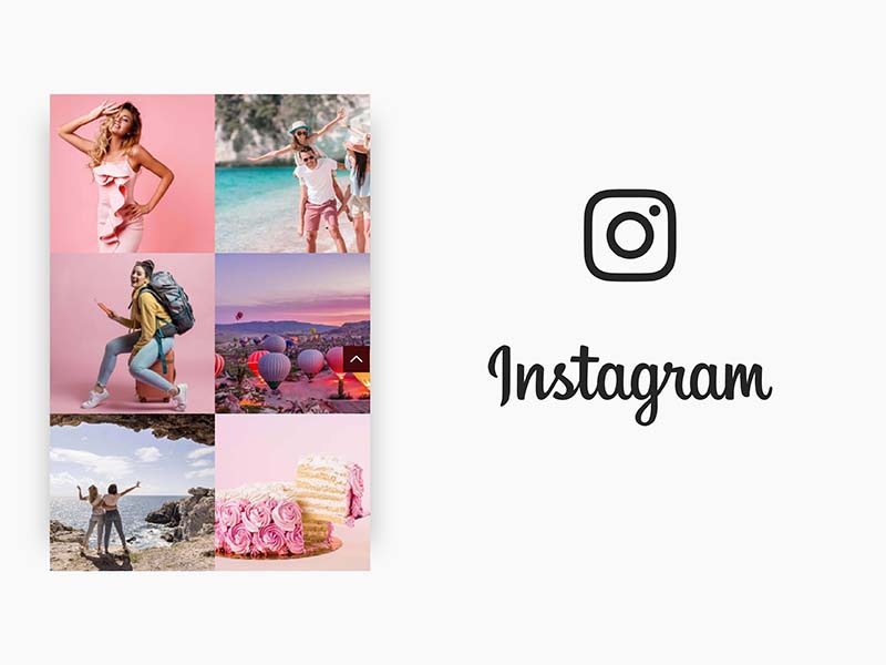 Create brand awareness by Insta feed