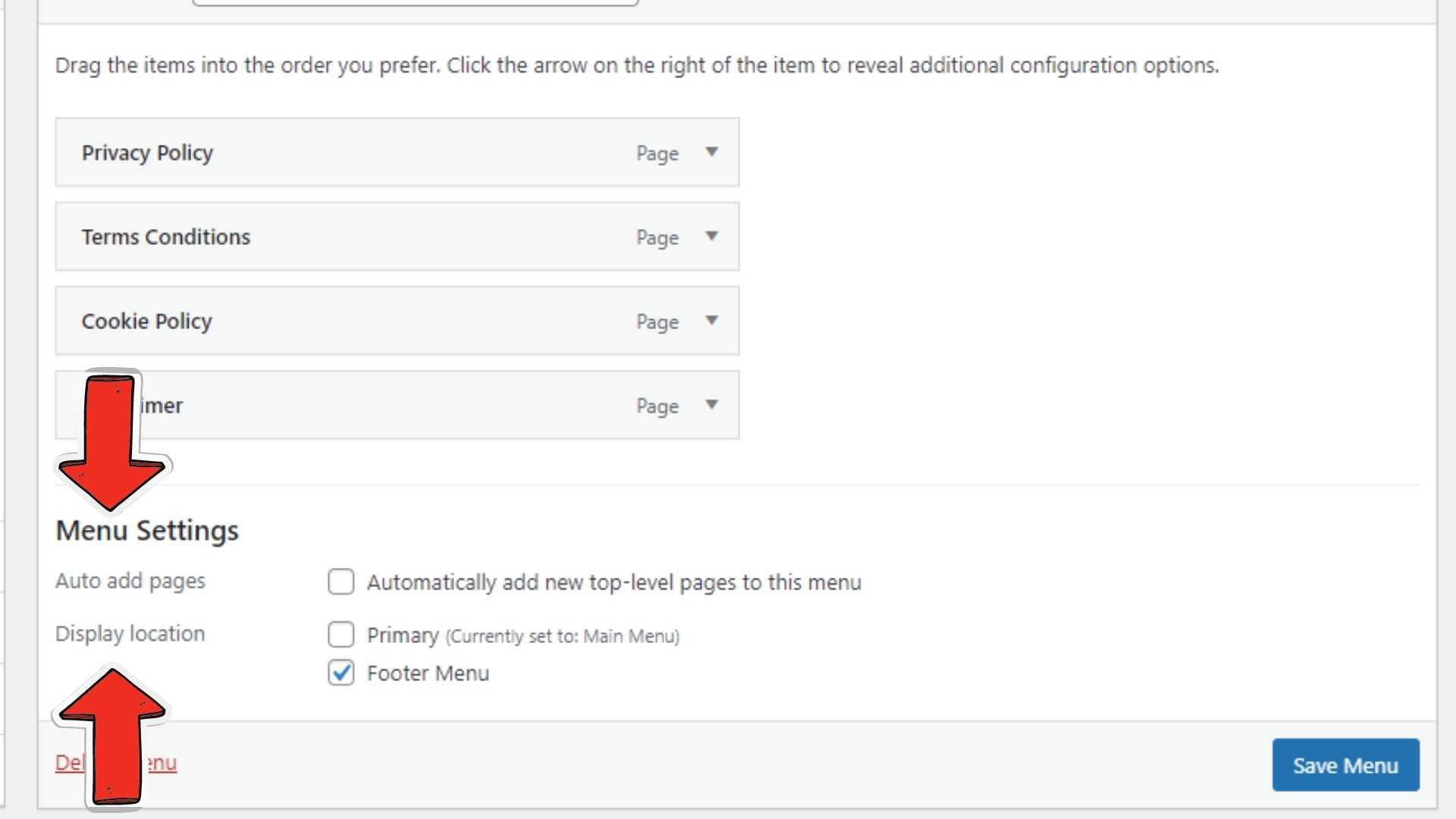 Add Category to WordPress Navigation