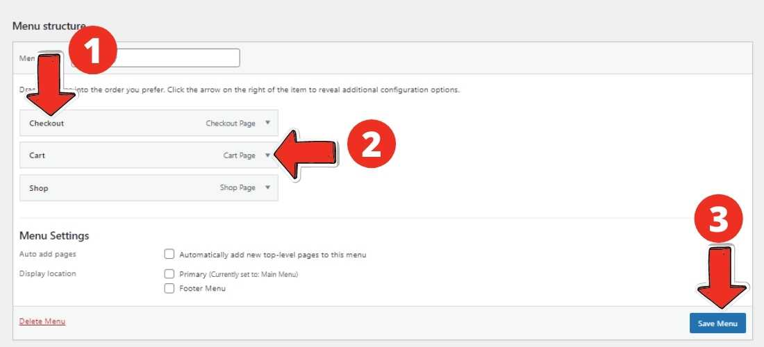 Add Category to WordPress Menu