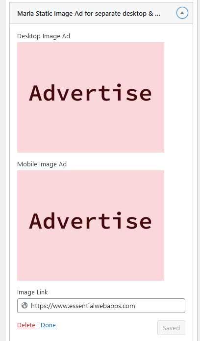 Advertise Back