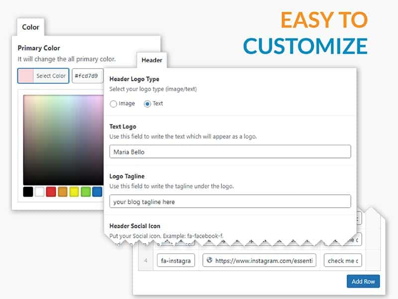 Easy to customize - UNLIMITED color